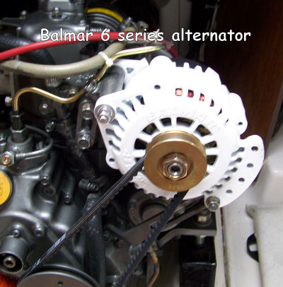 seaward 25 modifications improvements alt retrofitting this balmar alternator